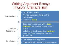 "simon  amp  schuster handbook for writers    e ch    amp      writing argument essays essay structure introduction ""hook"" your reader provide background info on the"