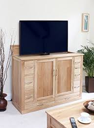 mobel oak hideaway lifter widescreen television cabinet bonsoni mobel oak hideaway