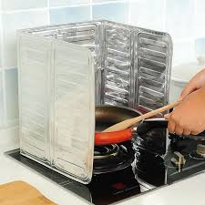 <b>Gas</b> Stove, Oil Shield, Oil-proof <b>Aluminum Foil</b>, Cooking, Heat ...