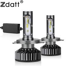 2019 <b>Zdatt</b> H7 LED H4 LED H11 Car <b>Light</b> Canbus Headlight Bulb ...