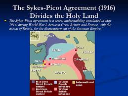 「1916 Sykes-Picot Agreement」の画像検索結果