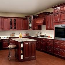 Diy Staining Kitchen Cabinets Kitchen High Quality Cherry Stained Kitchen Cabinets Staining