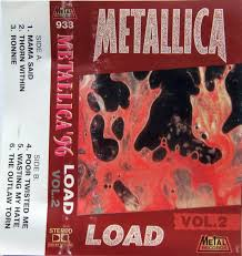 <b>Metallica</b> - <b>Load</b> (Vol.<b>2</b>) (1996, Cassette) | Discogs