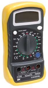 <b>Мультиметр IEK Master</b> MAS838L — купить по выгодной цене на ...
