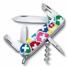 "<b>Нож</b>-<b>брелок</b> ""<b>VX Colors</b>"", 12 функций бренда Victorinox – купить ..."
