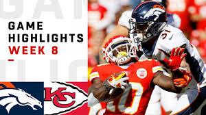 Broncos vs. Chiefs Week 8 Highlights | NFL 2018 - YouTube