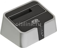 <b>Док</b>-<b>станция</b> для HDD <b>AGESTAR</b> 3CBT2, серебристый, отзывы ...