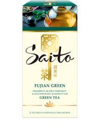 <b>Чай Saito</b> Fujian <b>Green</b> 25 пакетиков