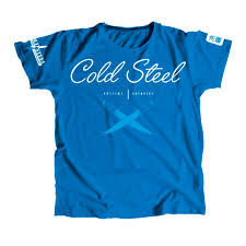 Купить <b>футболка Cold Steel Cursive</b> Blue Tee Shirt Women TK
