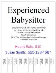 babysitting resume image resume formt cover letter example resume au pair babysitting resume sample resume cover