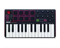 Миди <b>клавиатура AKAI PRO</b> MPK MINI MK2 USB - купить ...