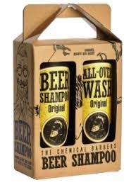 <b>The Chemical Barbers</b> Beer Shampoo Gift Set Original ...