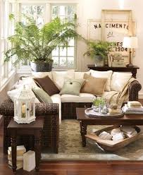 barn living room ideas decorate: our new living room big plant in corner cozy gathering area via