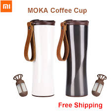 <b>Xiaomi</b> KissKissFish MOKA Steel <b>Portable</b> Smart <b>Coffee Cup</b> ...