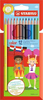 <b>Stabilo</b> Набор цветных <b>карандашей</b> Color 12 цветов — купить в ...