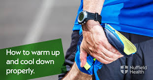 How to <b>warm up</b> and <b>cool down</b> properly | Nuffield Health