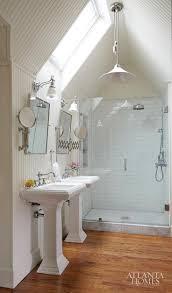 white bathroom skylight upstairs bathroom skylight bead board all the way to ceiling hardwood