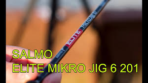 Обзор <b>SALMO ELITE MICRO</b> JIG 6 201 БЮДЖЕТНЫЙ спинниг для ...
