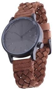 Купить Наручные <b>часы KOMONO Winston</b> Woven Chestnut по ...