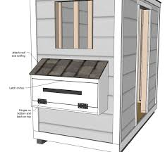 images about COOP BUILDING PLANS on Pinterest   Chicken coop    Ana White   Build a Shed Chicken Coop   Free and Easy DIY Project and Furniture Plans