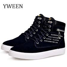 <b>YWEEN Men's Casual Shoes</b> Lace up Help Style Fashion Men ...