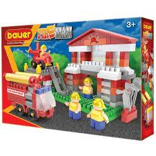 <b>Конструктор Fireman</b>. <b>Пожарная</b> часть (<b>Bauer</b>) 742-Б | Детский ...