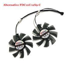 2Pcs/set <b>FDC10U12S9 C</b> Alternative VGA Cooler Fan For HIS 7970 ...