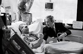 paying homage   bush visits wounded troops   photo essays   timegeorge w  bush
