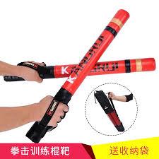 2pcs 60cm Black <b>red boxing</b> Precision Training Sticks punching ...