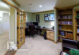exterior basement office ideas basement office solutions idea basement office design