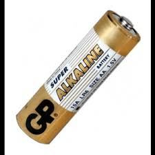 <b>Элемент питания GP Super</b> Alkaline 15A LR6 AA 4 штуп купить в ...