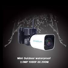 <b>Inesun Outdoor WiFi IP</b> Security Camera 1080P IP Camera WiFi 4X ...