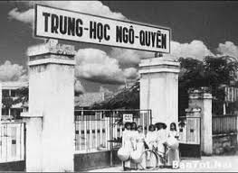 Image result for Trường trung học Ngô Quyền