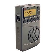 shower radio review guide x: cc pocket radio w am fm wx amp  presets