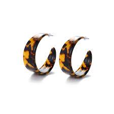 <b>Fashion Brand Design</b> Acrylic Leopard Earrings for Women ...