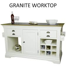 kitchen island granite top sun: details about palais cream painted furniture large granite top kitchen island unit worktop painted furniture cream and tops