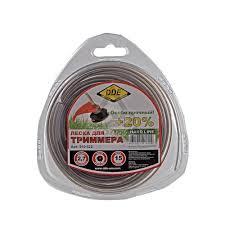 <b>Леска для триммеров DDE</b> 910-522 Hard line, купить по цене 125 ...