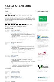 office secretary resume samples   visualcv resume samples databaseoffice secretary resume samples