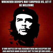 Whenever DevOps may surprise us, let it be welcome if our battle ... via Relatably.com