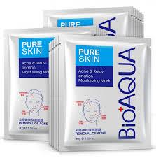 <b>Маска</b> на <b>тканевой</b> основе для <b>проблемной</b> кожи Анти-Акне (30г ...