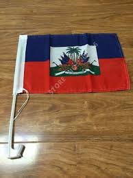 <b>Free shipping 30x45cm</b> Haiti car window flag polyester car flags ...