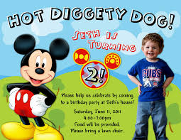 mickey mouse birthday invitations mickey mouse birthday mickey mouse birthday invitations picture