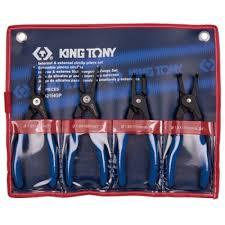 <b>Набор съемников стопорных</b> колец, 4 предмета, KING TONY ...