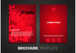 brochure template vector art 7097 s brochure template vector