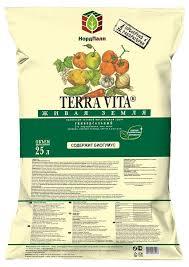 <b>Грунт Terra Vita</b> «<b>Живая</b> земля» универсальный, 25 л - купить по ...