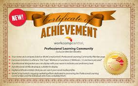 professional learning community workers compensation education new