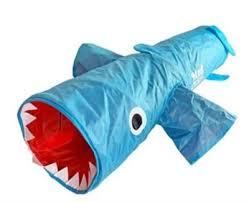 R2P <b>Pet</b> Mad Cat Jumpin Jaws <b>Shark Cat</b> Tunnel Toy - City Bark