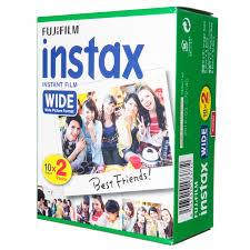 Фотопленка <b>Fujifilm</b> кассета Instax Wide <b>Glossy 10</b>/<b>2Pk</b>