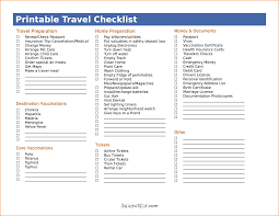 travel packing list template teknoswitch printable travel checklist packing list as pdf by nak29375
