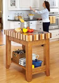 portable kitchen trolley island butcher block kitchen islands with seating